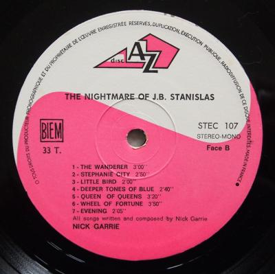 The Nightmare of JB Stanislas