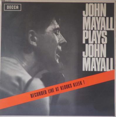 Plays John Mayall