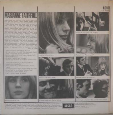MARIANNE FAITHFULL - Same at lsdreamsrecords.