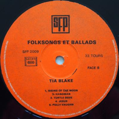 Folksongs and ballads