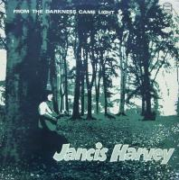 JANCIS HARVEY/From the darkness came light