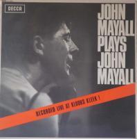 JOHN MAYALL/Plays John Mayall